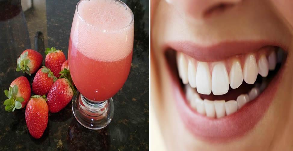 Remédio Caseiro Para Perda Óssea Nos Dentes-Suco de Morango
