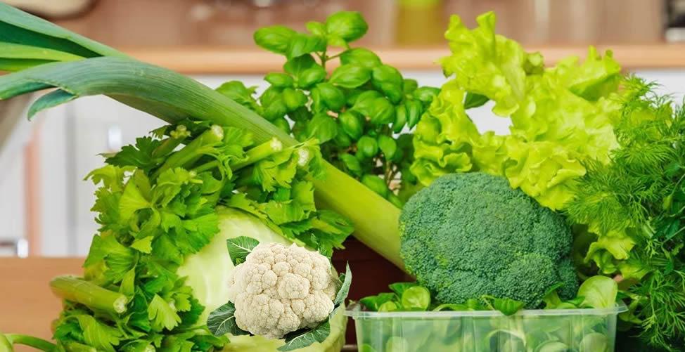 Remédio Caseiro para Inflamação no Útero - Consumir Verduras