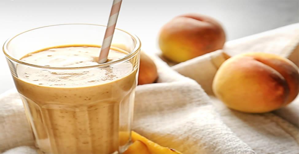 Vitamina Para Perder Peso Com pêssego