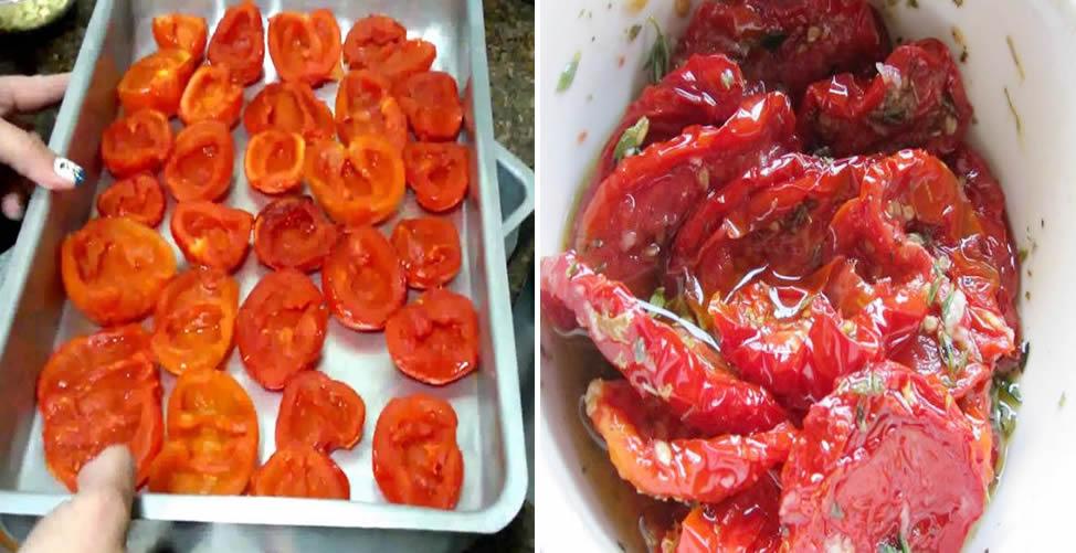 Como Fazer tomate Seco