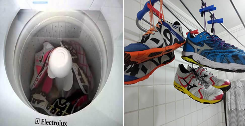 Como Lavar Tênis na Máquina e Secar