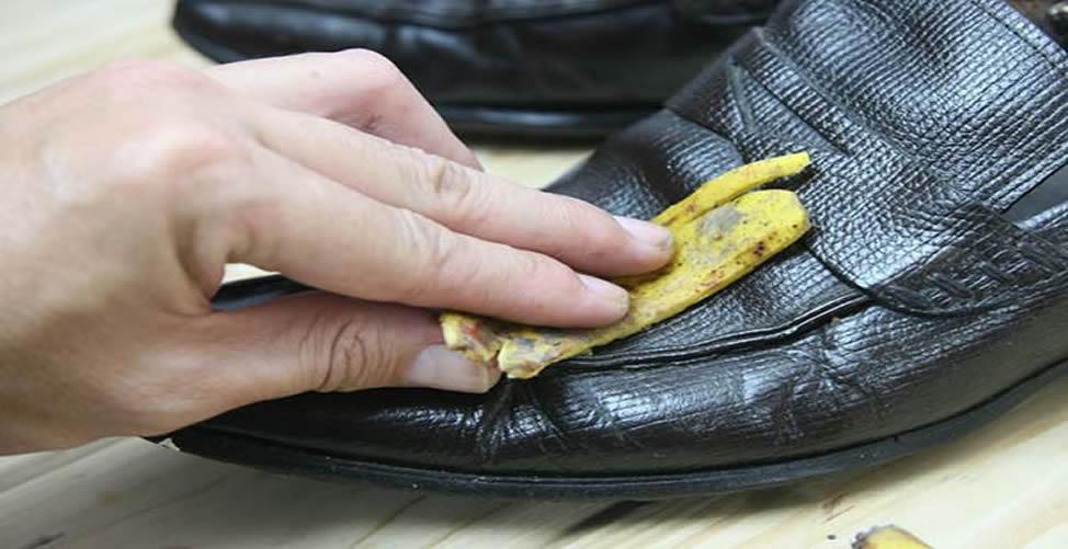 Como Limpar Sapato Com Casca de Banana