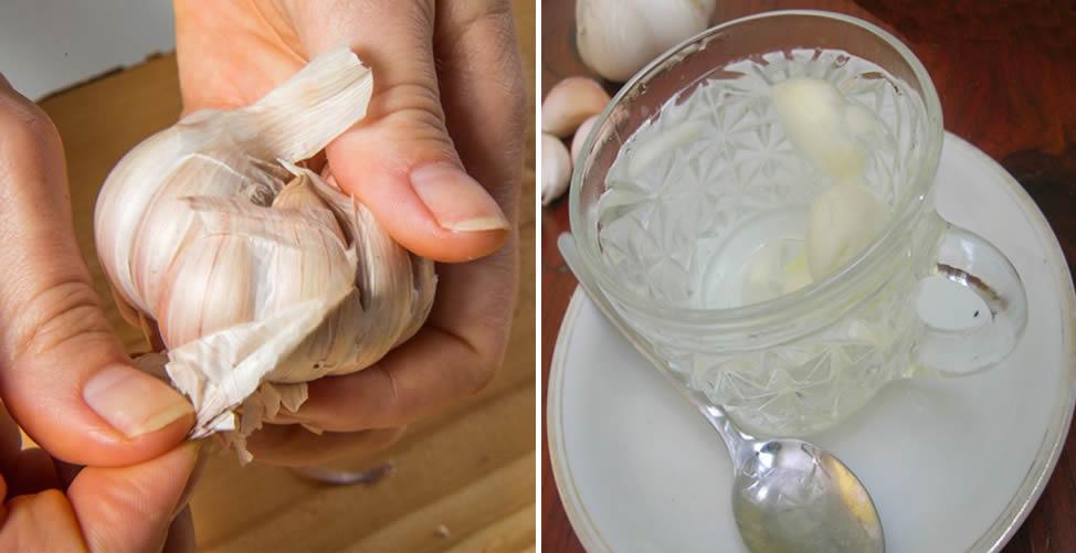 Remédio caseiro para coqueluche-Chá de Alho