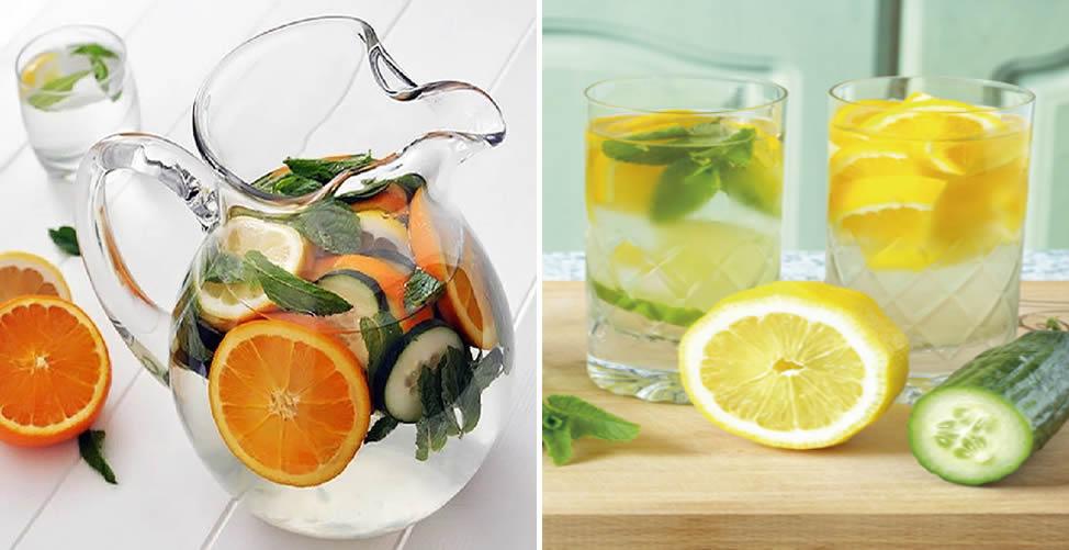 Saiba Como Fazer Água Detox