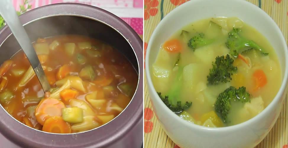 Como Fazer Sopa Light