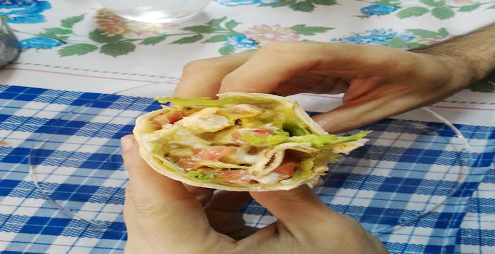 Receita de Burritos de Frango