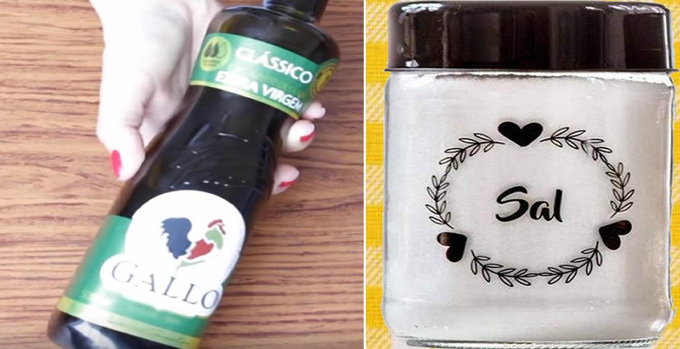 Azeite de Oliva Com Sal Para Dor