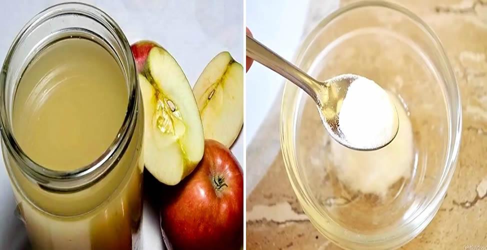 bicarbonato e vinagre