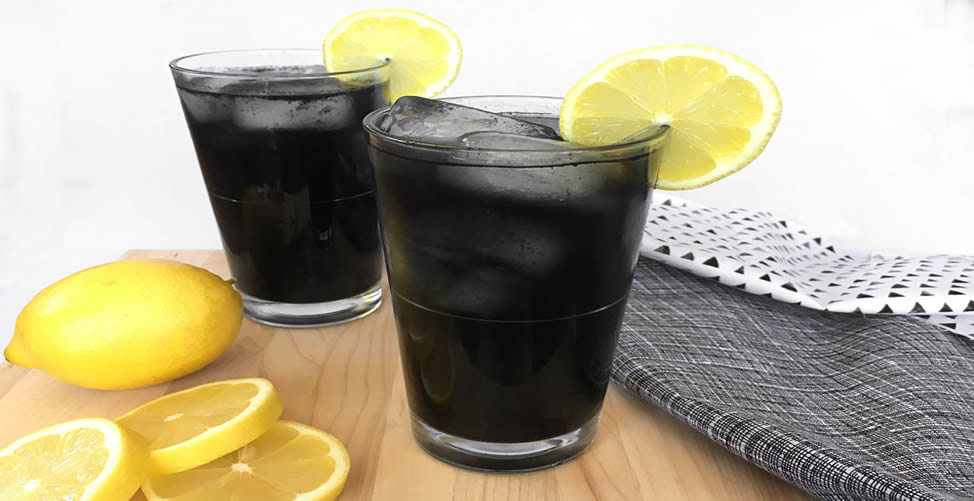 limonada de carvão