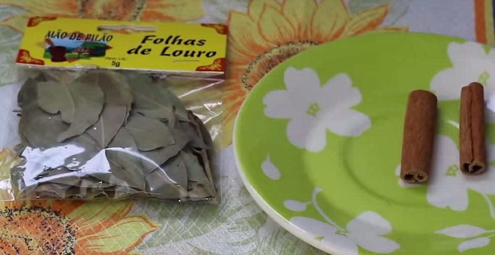 Chá de LOURO Com CANELA